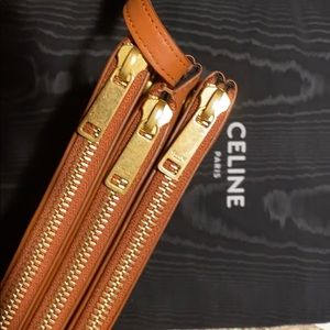 Celine Bags - CELINE ultra luxe trio bag in smooth lambskin